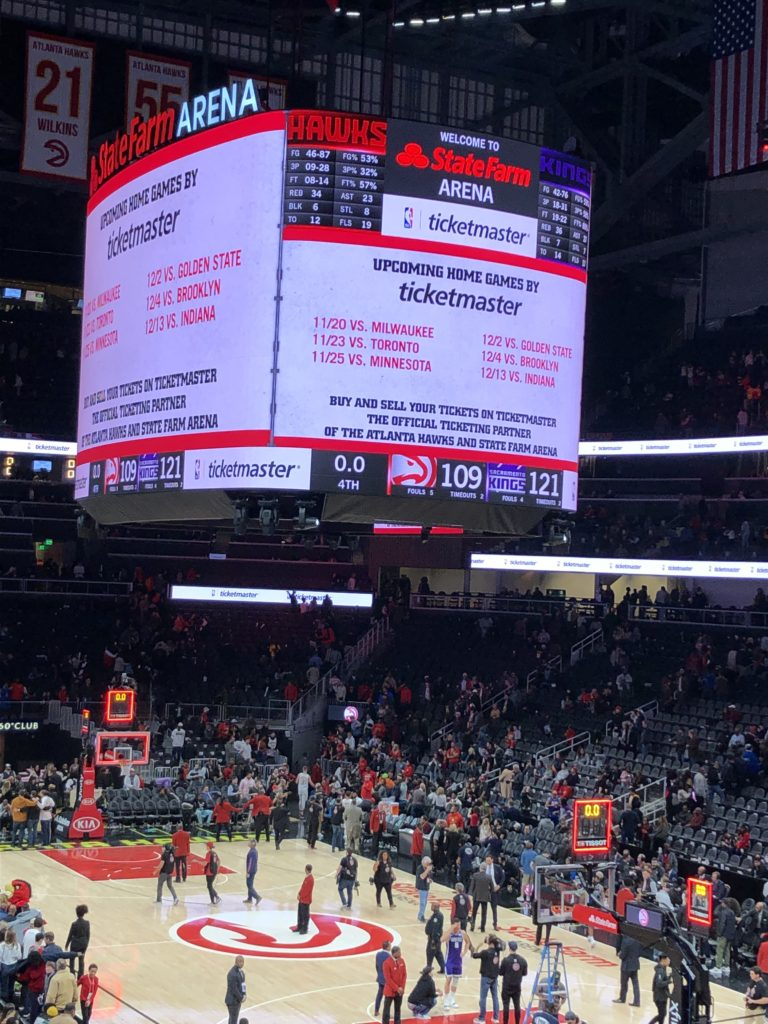 Back to Back L's-Atl Hawks unable to overthrow Sacramento Kings