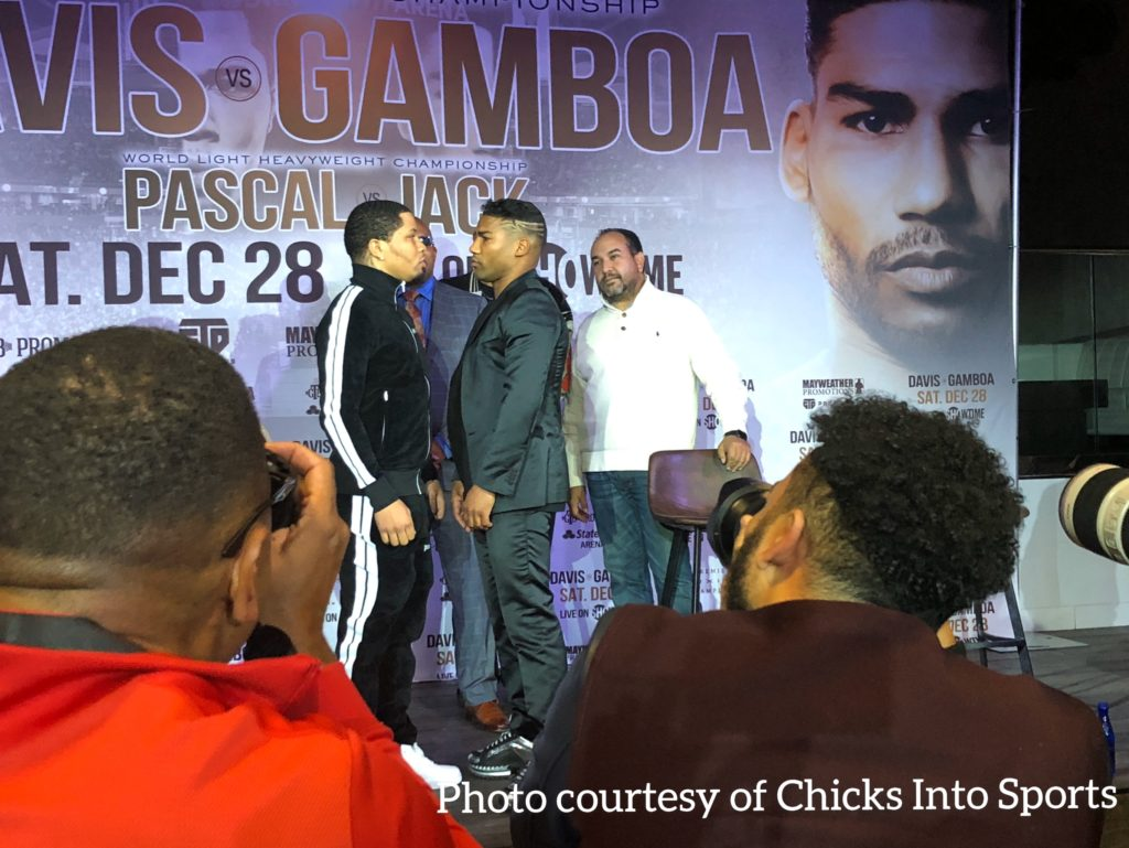 ATL is ready to rumble: Davis and Gamboa bring boxing back to ATL