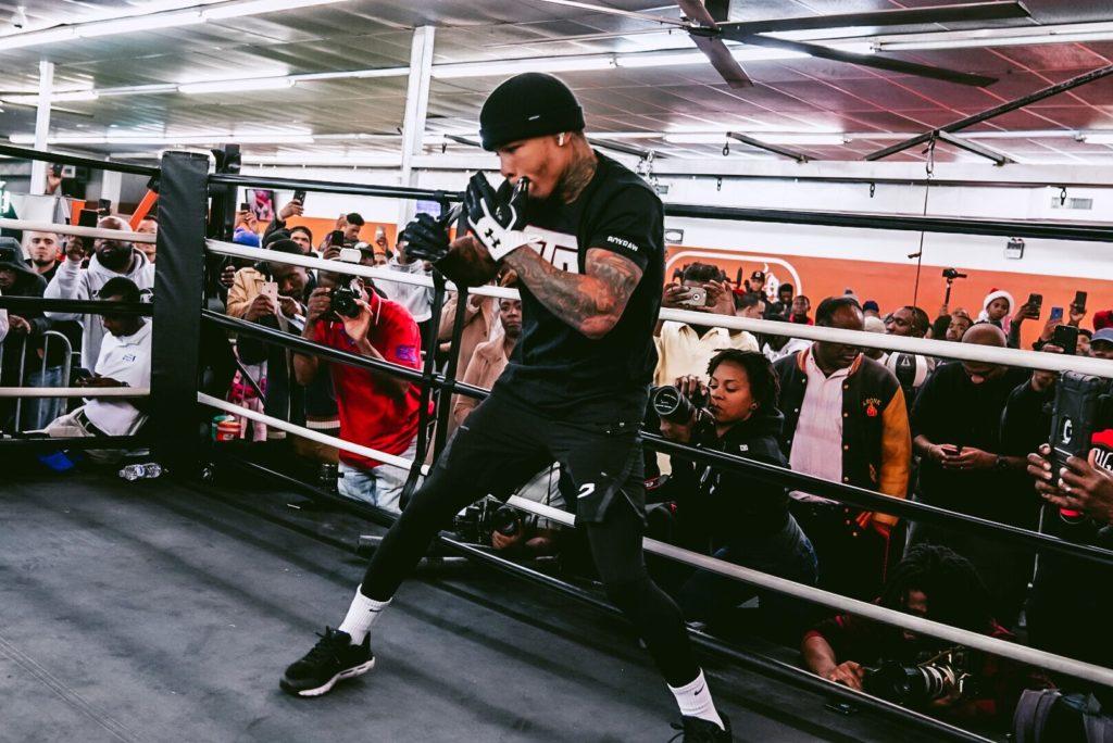 Gervonta Davis workout in ATL