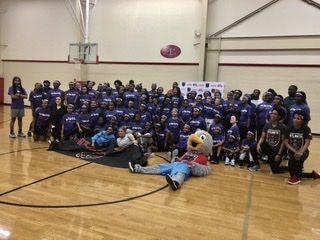 Dream host basketball clinic on National Girls and Women in Sports Day