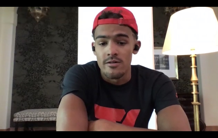 Atlanta Hawks Trae Young not Afraid to Fight against Police Brutality and Racial Injustice