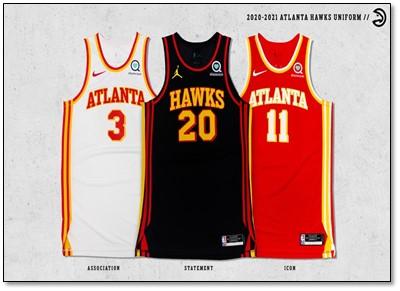 Atlanta Hawks drop New Jerseys