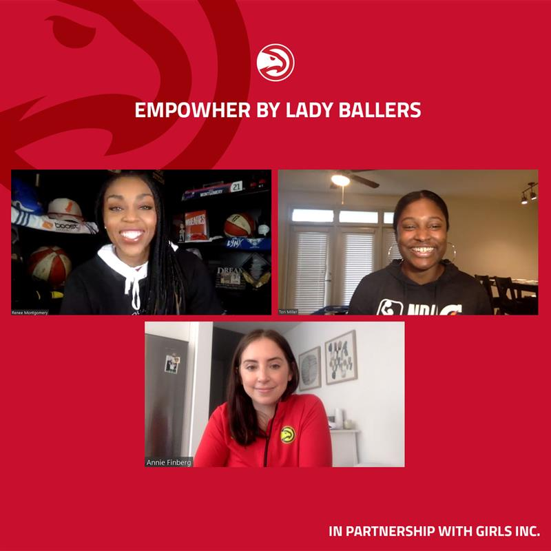Inspiring afternoon with two trailblazing women in the sports industry; Montgomery and Miller
