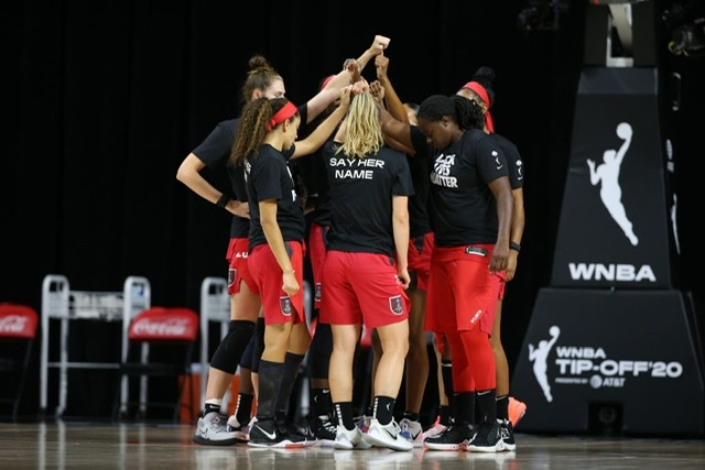 Dream fall to McCoughtry and the Aces 70-100