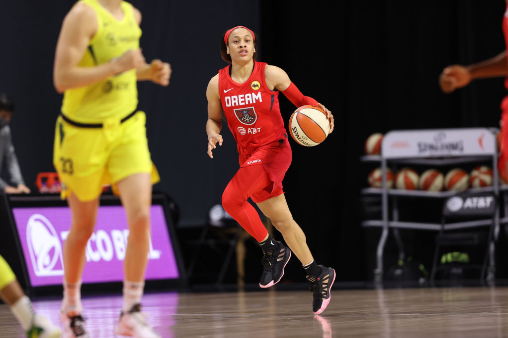 Dream Chennedy Carter named to the 2020 WNBA All-Rookie Team