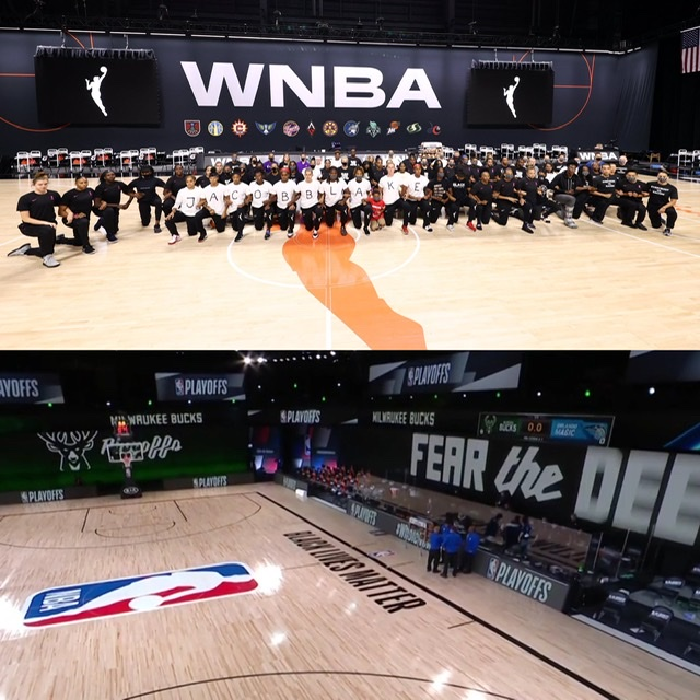 Bigger than Ball: NBA and WNBA Players Boycott Games