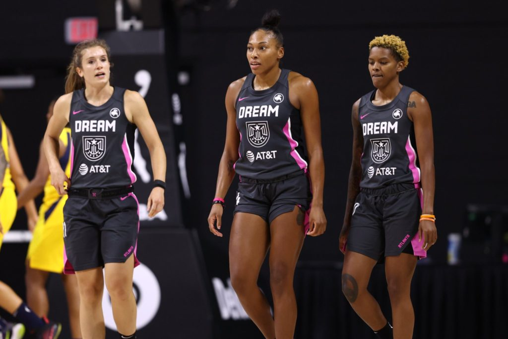 Still Dreaming: Dream fall apart to Angel McCoughtry and Aces