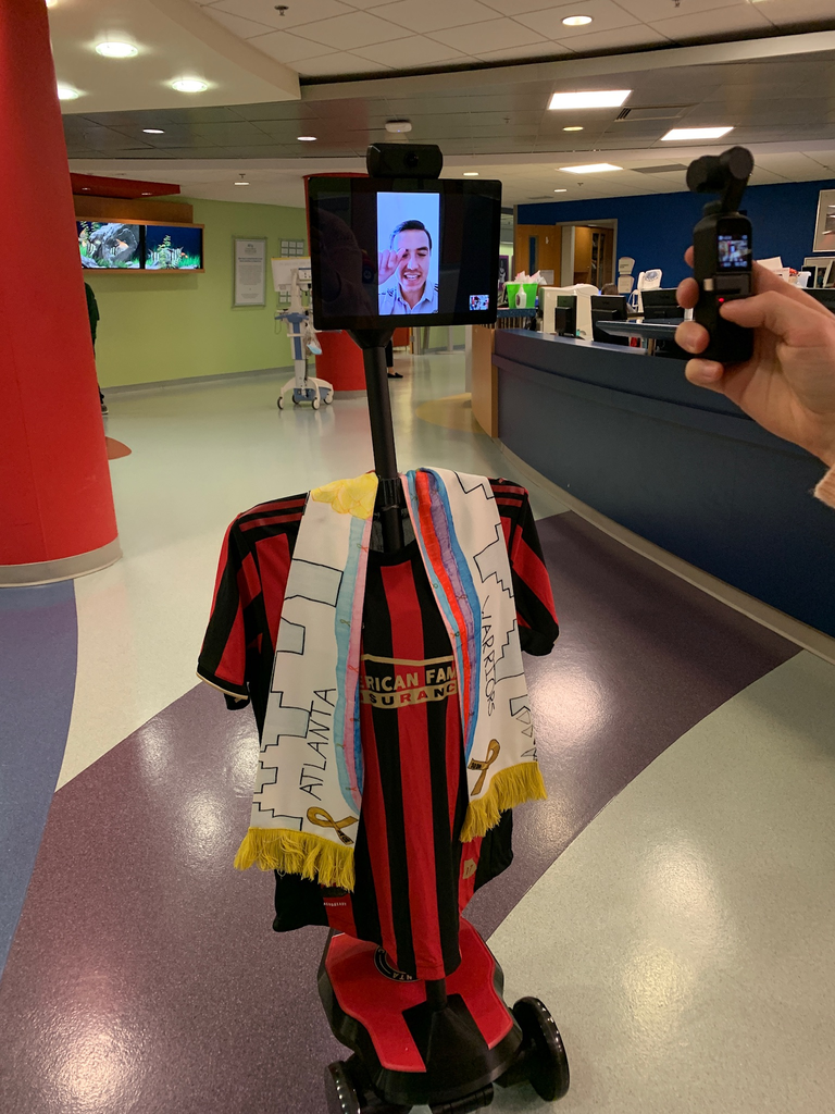 Atlanta United and Atlanta Falcons acquire OhmniLabs' Robots To Support Community Relations initiatives