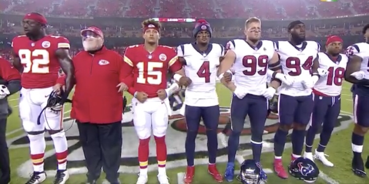Football is back! Chiefs and Texans open the season with Boos