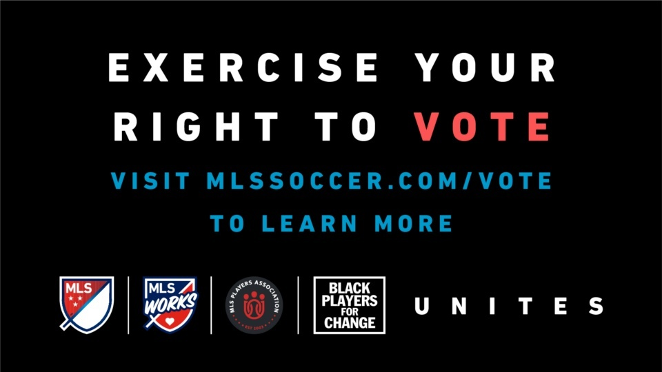 MLS, Black Players for Change and MLS Players Association Team Up to Launch MLS Unites to Vote
