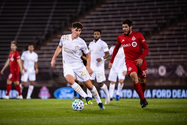 Late Score by Pablo Piatti lift Toronto FC to 1-0 win over Atlanta United