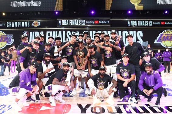 The Bubble Has Burst: The Los Angeles Lakers are the 2020 NBA Champions!
