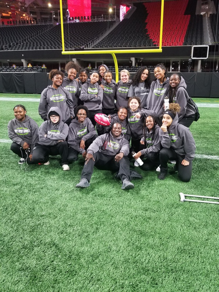 THE ATLANTA FALCONS NAMED SHAW HIGH SCHOOL GIRLS FLAG FOOTBALL COACH COACH OF THE WEEK