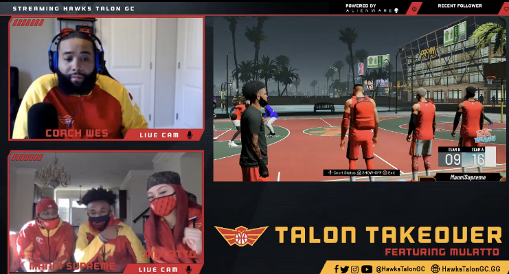 Hawks Talon GC Hosts TWITCH Stream with RIAA-Certified Gold Mulatto Recap