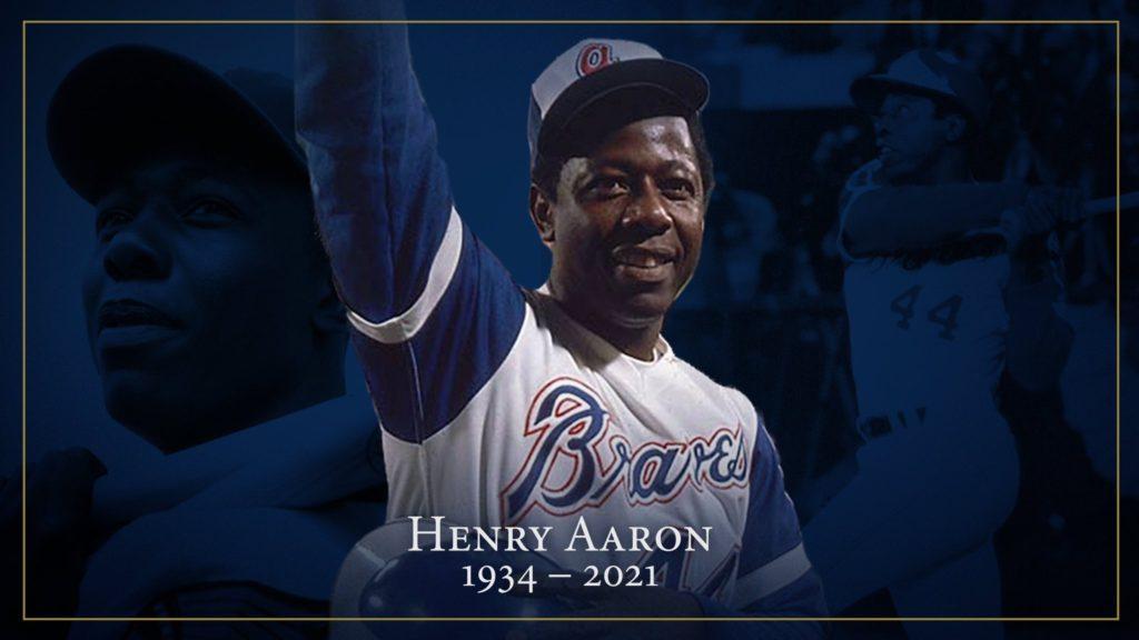 "Remembering  Atlanta Braves legend""Hammerin"" Hank Aaron"