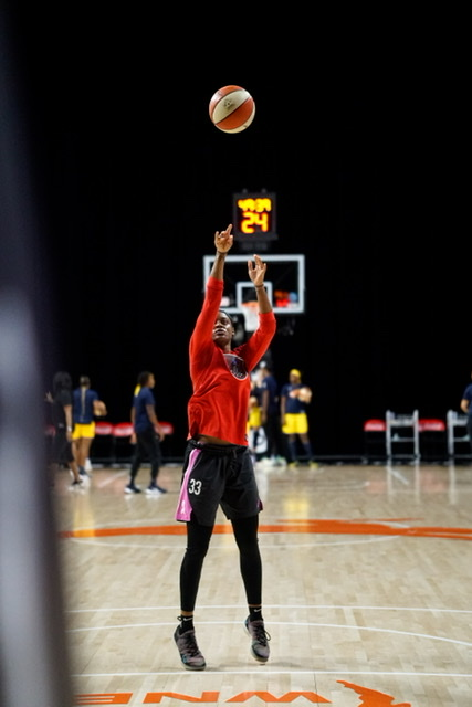 Buford Georgia Native Kaela Davis return to the Atlanta Dream