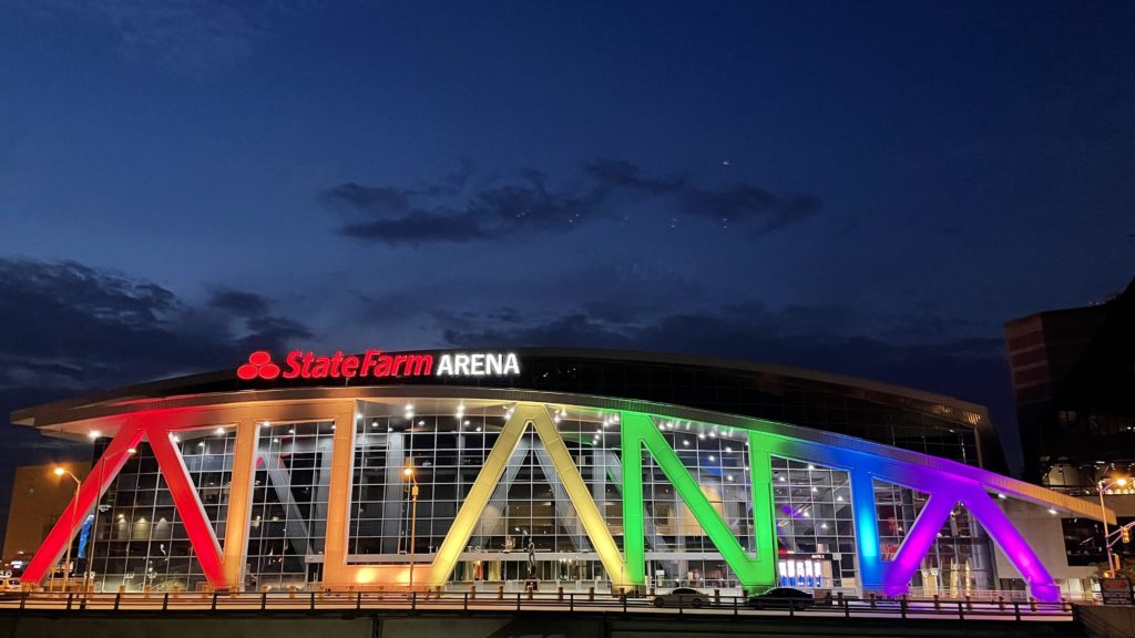 TONIGHT IS THE NIGHT;  ATLANTA HAWKS TO HOST THIRD ANNUAL PRIDE NIGHT PRESENTED BY STATE FARM® if