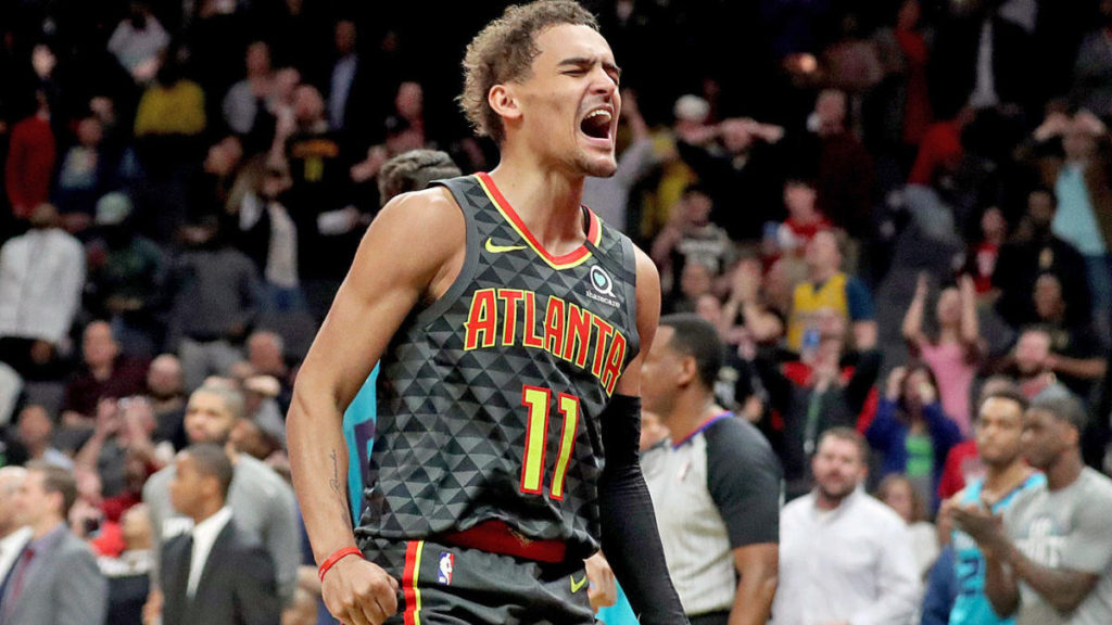 Trae Young Silence Haters with Big Win  in Game 1
