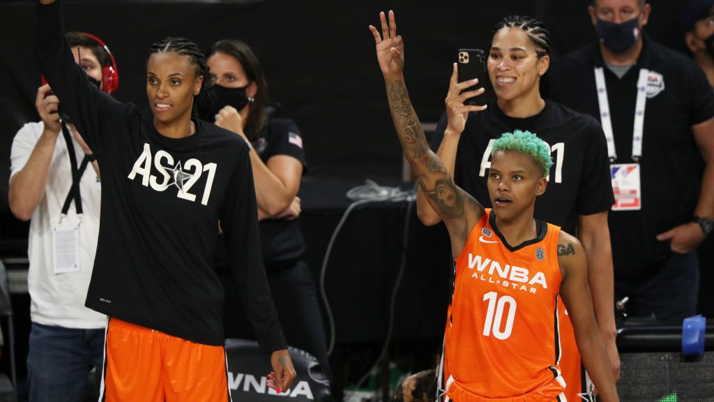 TEAM USA DEFEAT TEAM WNBA IN ALL-STAR GAME