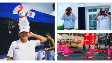 Photo of Behind the scenes of the Louis Vuitton America's Cup World Series in Bermuda