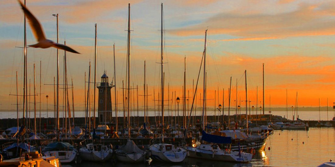 Photo of The boats, the dawn and… Ralph Waldo Emerson