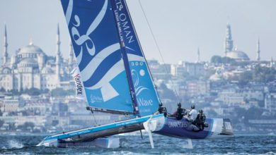 Photo of The Wave, Muscat dominate in Istanbul to take fifth Act title of the Extreme Sailing Series