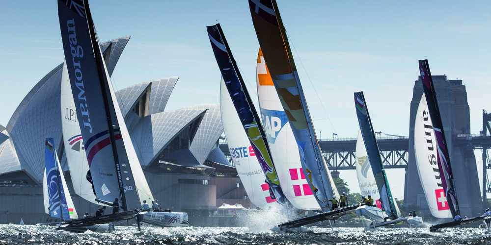 Photo of Extreme Sailing Series. Have you ever seen a regatta at 360°?