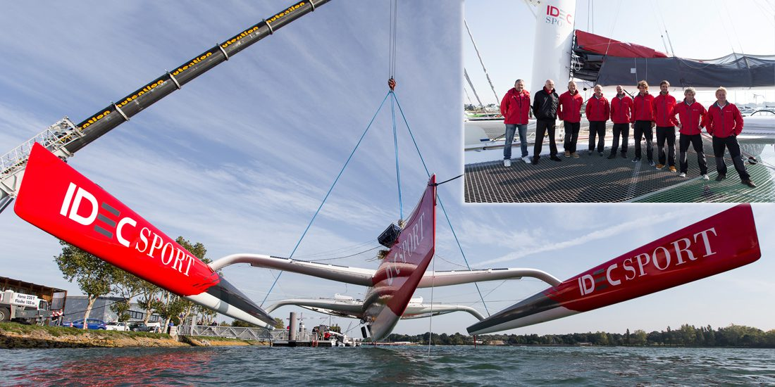 Photo of Jules Verne Trophy – A real dream team as the crew of IDEC Sport