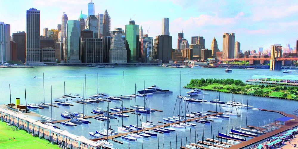 Photo of Discover ONE°15 Brooklyn Marina, the new marina in New York City