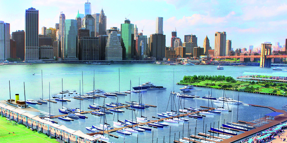 Photo of Discover ONE°15 Brooklyn Marina, the new marina in New York City