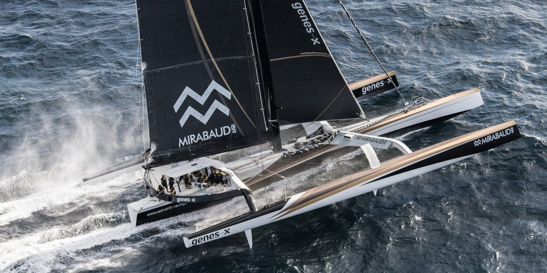 Photo of Trophée Jules Verne. Spindrift 2: a complicated South Atlantic