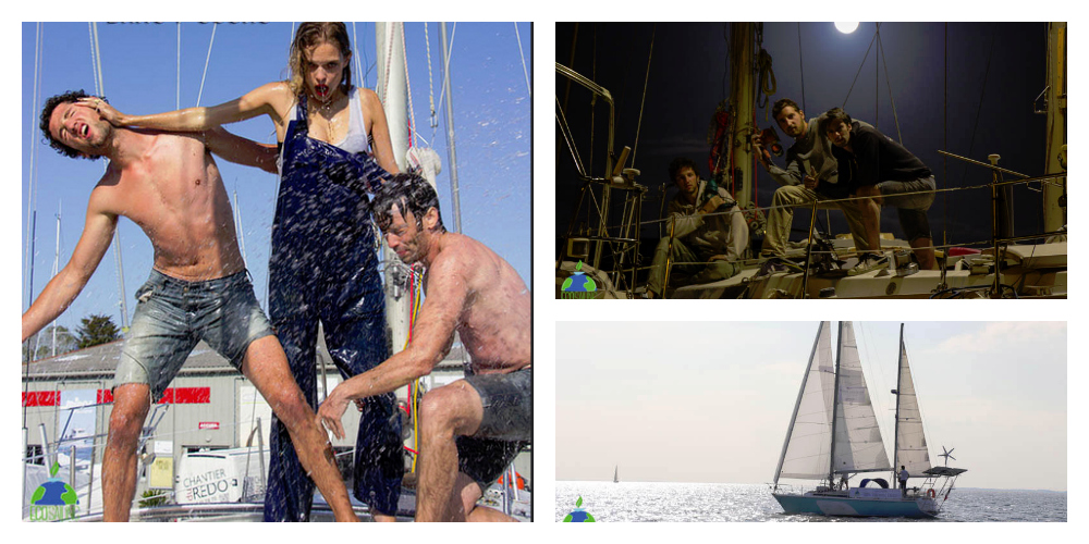 Photo of INTERVIEW. Four friends around the world with a zero-emissions sailboat/Part 1