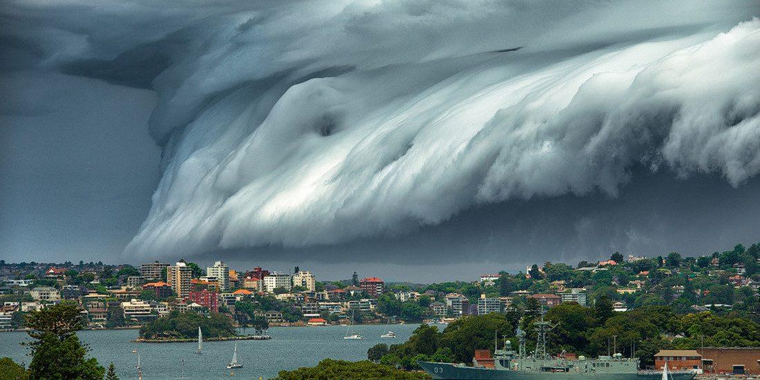 Photo of VIDEO. 'Cloud Tsunami' Rolls Over Sydney