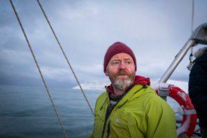 Captain Siggi. From Aurora Arktika's surf trip to Hornstrandir/Adalvik in December 2015.