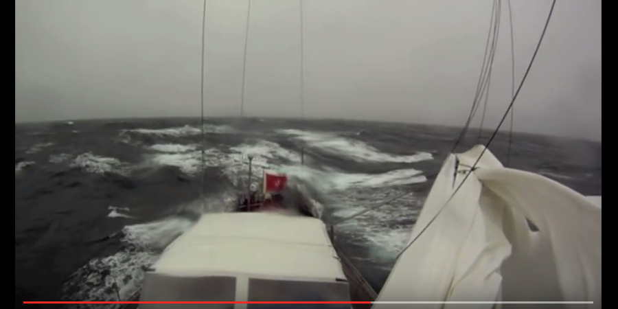 Photo of VIDEO. Storm in the Arctic Ocean – 64° North