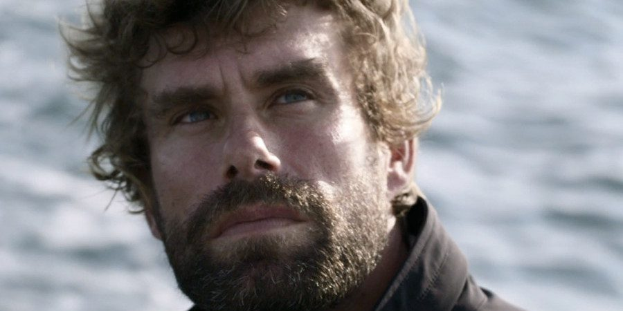 "Photo of ""Man at Sea"", the emotional video portrait of the olympic champion Iain Percy"
