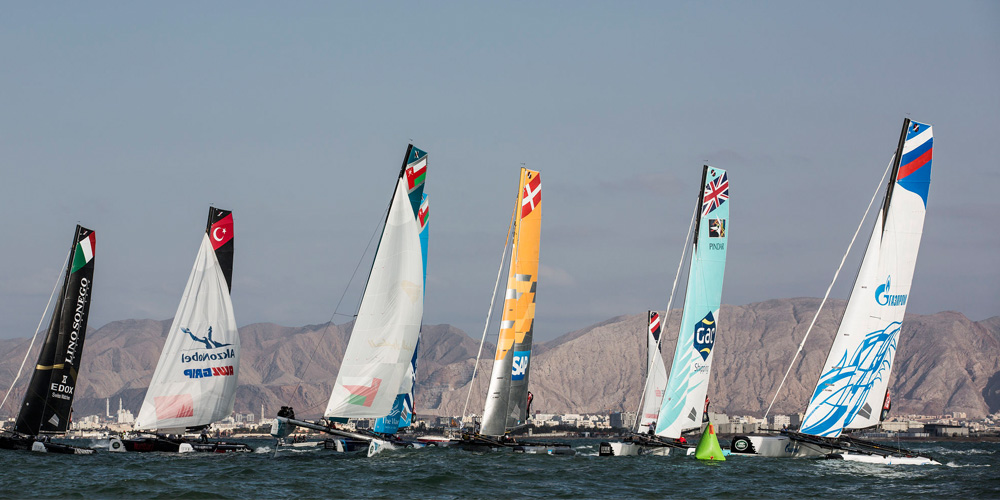 Photo of Sultanate of Oman to host first Act of the 2016 Extreme Sailing Series