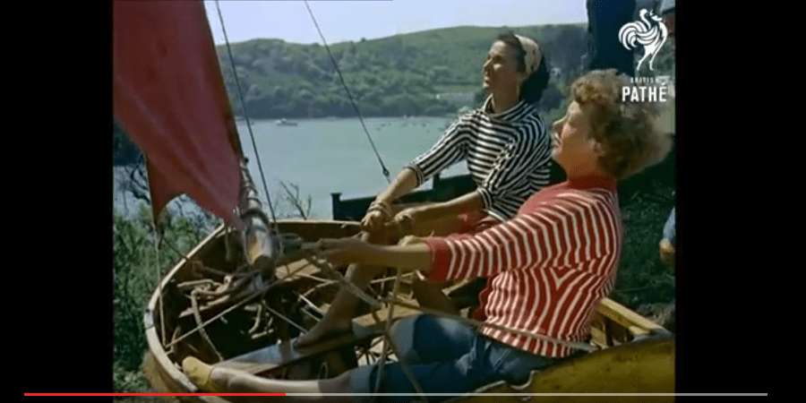 Photo of #sundayvideo. How we learn to sail in 1956?