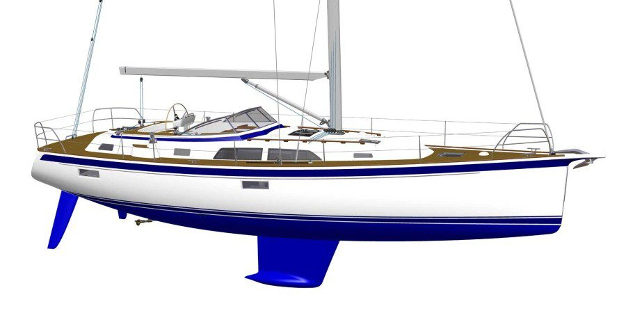Photo of Sneak pre-view: the new Hallberg-Rassy 44 in production. VIDEO