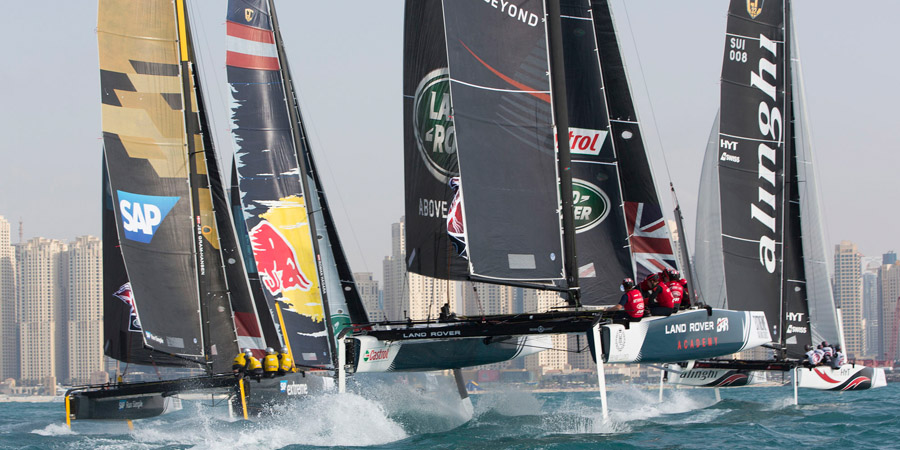 Photo of The countdown begins to the 2016 Extreme Sailing Series in Muscat