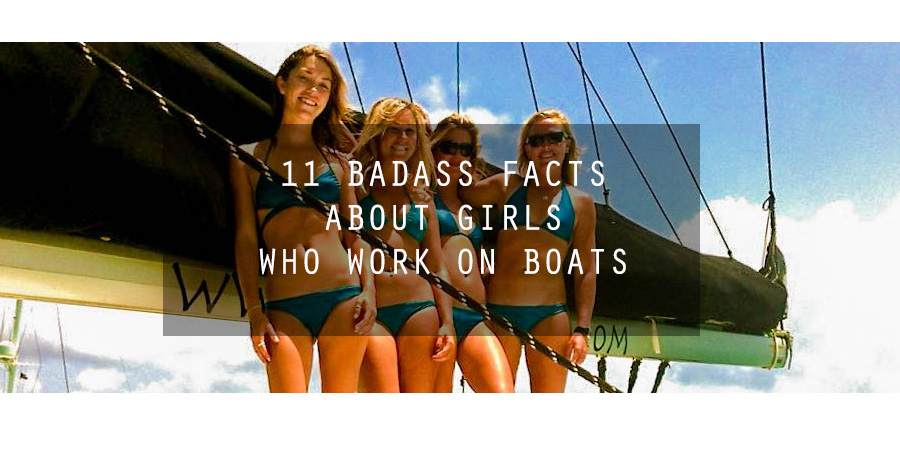 Photo of 11 Badass facts about girls who work on boats