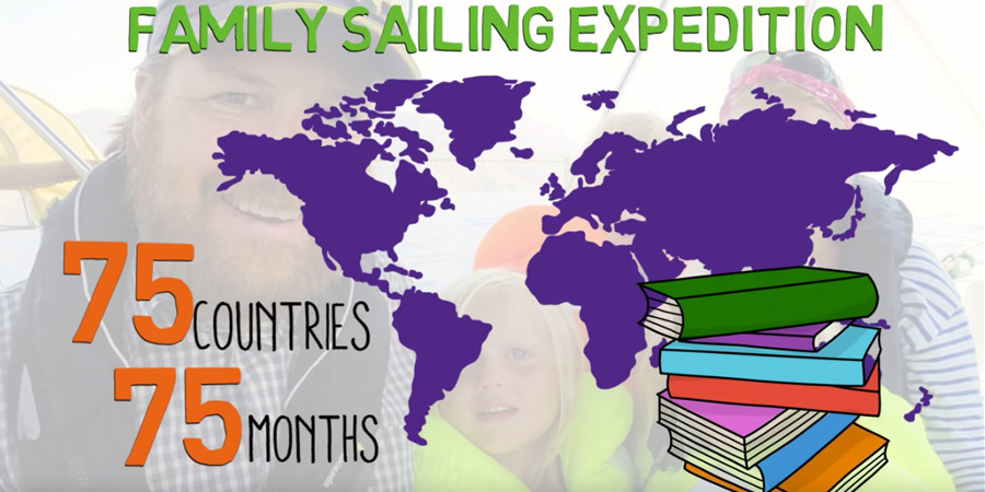 """Photo of What's """"Sail for Good Global Classroom""""? VIDEO"""