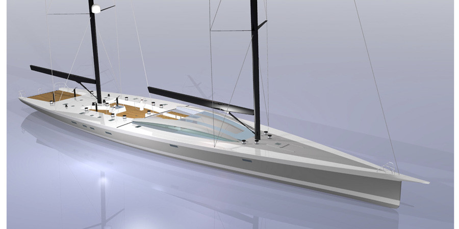 """Photo of Philippe Briand: """"How to use the glass in sailing yacht design"""""""