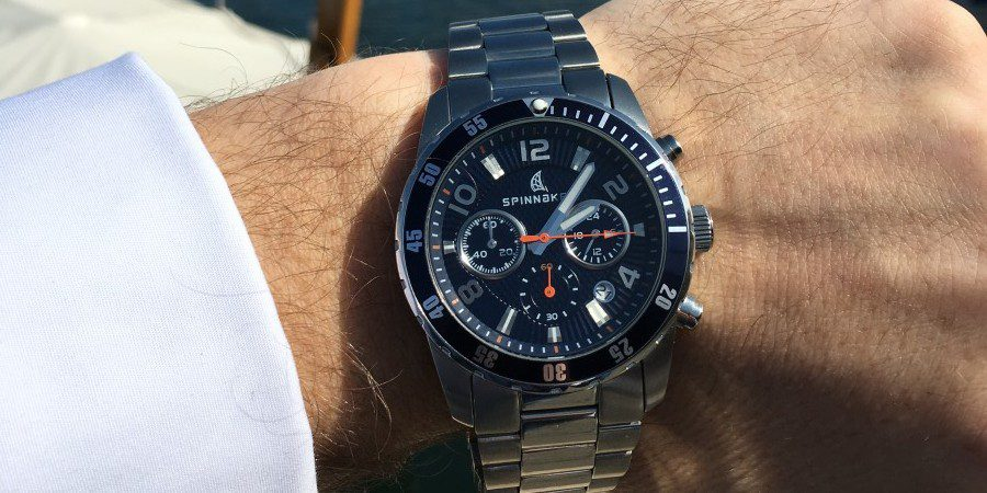 Photo of Spinnaker Stern: a watch we love when we are sailing