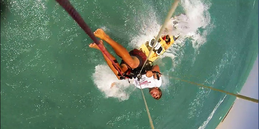 Photo of #sundayvideo. Best kitesurf (and many more) crashes!