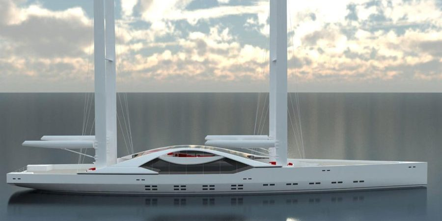 Photo of R77, the new 77m sailing superyacht concept. Future is now?