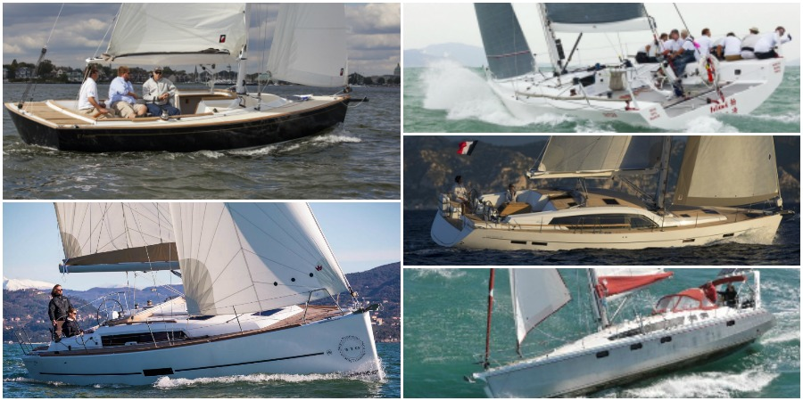 Photo of 5 sailboats seen at latest boatshows. Which one do you prefer? VOTE NOW