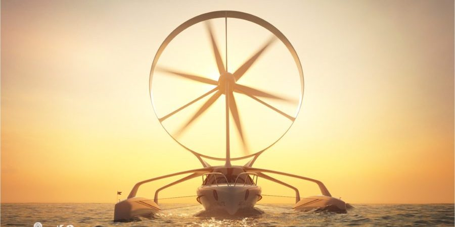 Photo of Sail into the wind using… wind power: this will be the future?