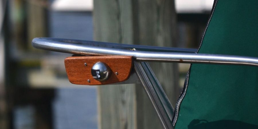 Photo of New Navigation Lights and Mounting Board
