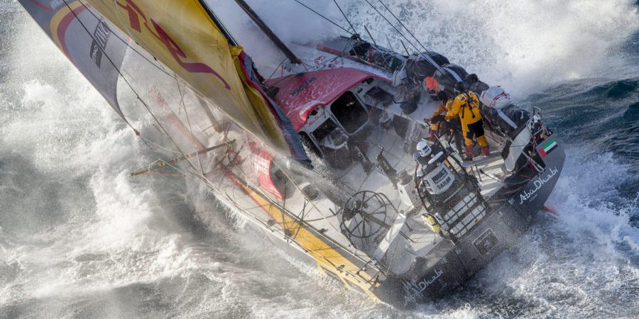 Photo of Riding the storm. Volvo Ocean Race Sailors… chase them! VIDEO